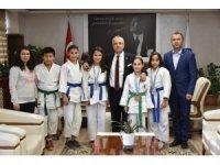Başkan Kayda, başarılı judocuları ödüllendirdi
