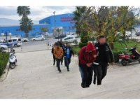 Milas'ta 6 zanlı tutuklandı