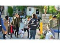 Bodrum'da yakalanan Suriyeliler bölgelerine gönderildi
