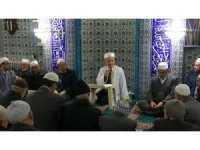 Eyüp Sultan Camii'nde hatim, sohbet ve dua