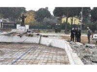 Nazilli'de Cumhuriyet Parkı'nın çehresi değişiyor