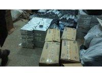 Erciş'te 26 bin paket kaçak sigara ele geçirildi