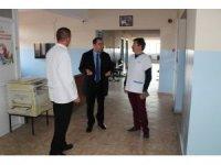 Kaymakam Tuncay Karataş'ın hastane ziyareti