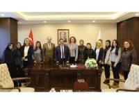 Üniversite öğrencilerinden Başkan Atilla'ya teşekkür ziyareti