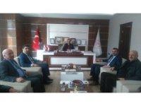 MHP'den Ticaret Borsası Başkanı Özbey'e ziyaret
