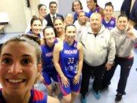 Mersin Büyükşehir Belediyespor, Avrupa'da çeyrek finale kapı araladı