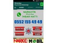 Narkotik 'whatsapp ihbar hattı' kuruldu