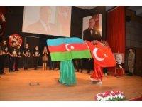 Haydar Aliyev Aliağa'da anıldı