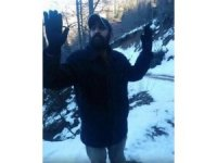 Giresun'da PKK'lı terörist işte böyle teslim oldu
