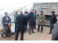 Taşlıçay'a 5 bin 500 ton kömür yardımı yapıldı