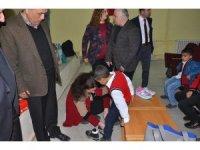 İslahiye Cumhuriyet İlkokulu öğrencilerinden Kardeş Okula yardım kampanyası