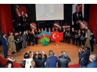Heydar Aliyev Aliağa'da anıldı