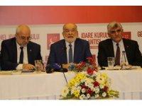 SP Genel Başkanı Karamollaoğlu, bölge sorunlarını değerlendirdi