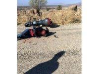 Kilis'te otomobille motosiklet çarpıştı: 2 yaralı