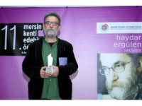 Mersin Kenti Edebiyat Ödülü, Şair, Yazar Haydar Ergülen'e verildi