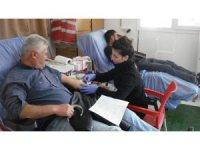 Sarıgöl'de iki günde 70 ünite kan toplandı