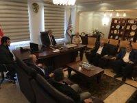 AK Parti ilçe teşkilatından Başkan Akcan'a ziyaret