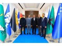 Yeni Malatyaspor yönetiminden Battalgazi Belediyesi'ne ziyaret
