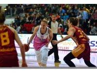 Bilyoner.com Kadınlar Basketbol Süper Ligi: AGÜ Spor: 72 - Galatasaray: 71