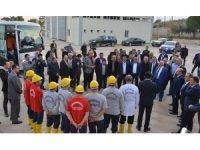 Meclis üyeleri Mersin'de yapılan çalışmaları yerinde inceledi