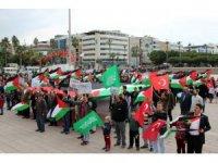 Hatay'da 'Özgür Kudüs' yürüyüşü
