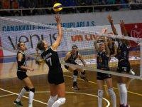 Bayanlar Kupa Voley: Çanakkale Belediyespor: 3 - Beşiktaş: 1