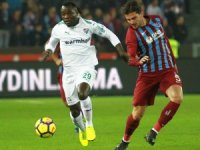 Süper Lig: Trabzonspor:0 - Bursaspor: 0 (İlk yarı)