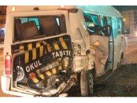 Denizli'de zincirleme kaza: 3 yaralı