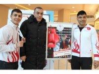 Milli boksörler spora teşvik etti