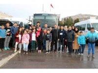 Okul Destek Projesi kapsamında öğrenciler Ankara'ya gitti