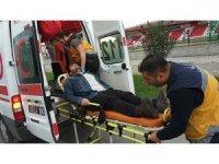 Arkadaşını okul kursuna götürürken kaza yaptı: 1 yaralı