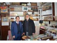 Kaymakam Zengince yöresel ürün üreticilerini ziyaret etti