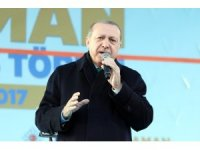 Cumhurbaşkanı Erdoğan Karaman'da toplu açılış törenine katıldı (1)