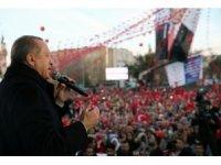 """Cumhurbaşkanı Recep Tayyip Erdoğan: """"Türkiye'nin yanı başında terör oluşumlarına izin vermeyeceğiz"""""""
