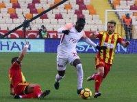 Badou Ndiaye, ilk golünü Malatya'da attı