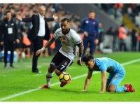 Süper Lig: Beşiktaş: 2 - Osmanlıspor: 0 (İlk yarı)