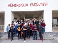 Gemerek Anadolu Lisesi Öğrencileri, Üniversitemizi Ziyaret Etti