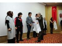 YYÜ'de 'beyaz önlük giydirme' töreni