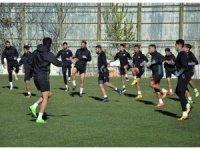 Gaziantepspor Giresunspor maçı hazırlıklarına başladı