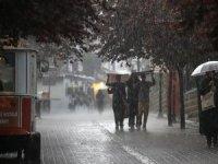 Ankara için kuvvetli sağanak uyarısı