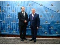 TİKA Başkanı Çam, Özbekistan Dışişleri Bakanı ile görüştü