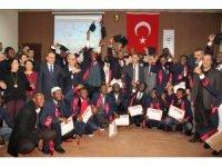 Ganalı öğretmen adayları mezun oldu