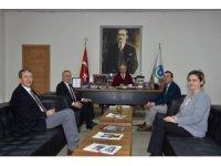 Başkan Albayrak, Basın İlan Kurumu Müdürleri Özvarlık ve Günel'i makamında ağırladı