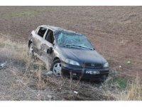 Elazığ'da otomobil şarampole uçtu: 4 yaralı