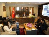 Başkan Çimen'den basın toplantısı