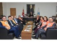 Başkan Albayrak, TEMA Vakfı Çorlu Şubesi ile bir araya geldi