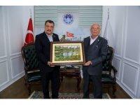 TÜRFAD yöneticileri Gürkan'ı ziyaret etti