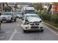 Bodrum'da trafik kazası 1 yaralı