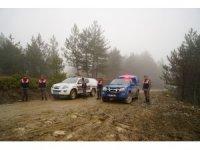 Kastamonu'da kayıp 5 kişilik aile ile ilgili olay yerinde keşif yapıldı