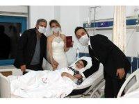 Hastane odasında nikah